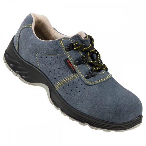 205 S1 Urgent munkavédelmi velúr félcipő