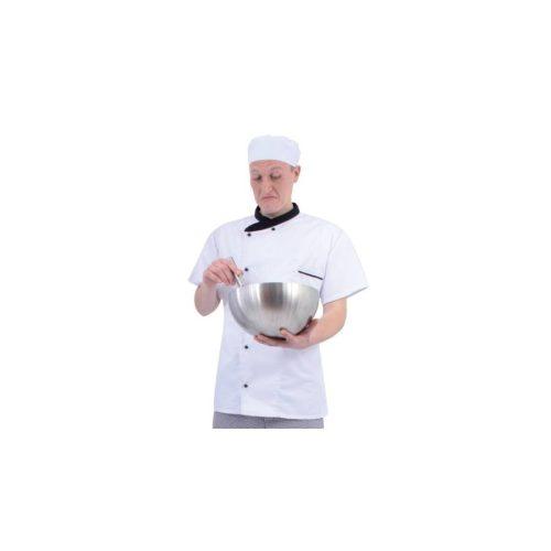 Rövid ujjú szakácskabát