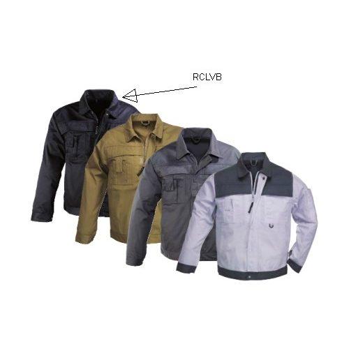 Coverguard Class kabát, cipzáras plusz patentos, Munkáskabát