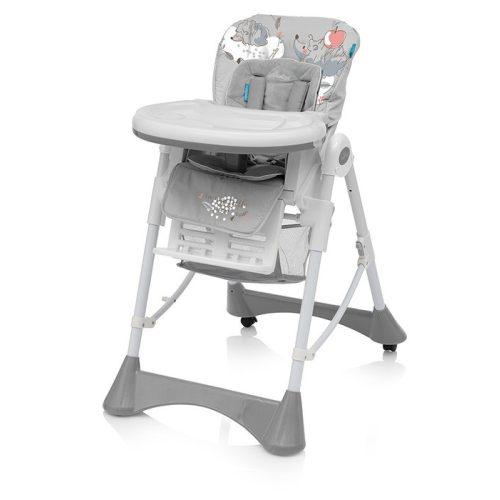 Baby Design PEPE multifunkciós etetőszék szürke
