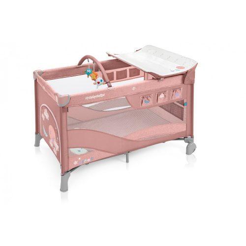 Baby Design Dream multifunkciós utazóágy pink