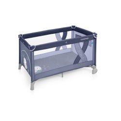 Baby Design Simple Fix utazóágy kék