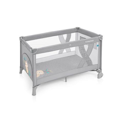 Baby Design Simple Fix utazóágy szürke
