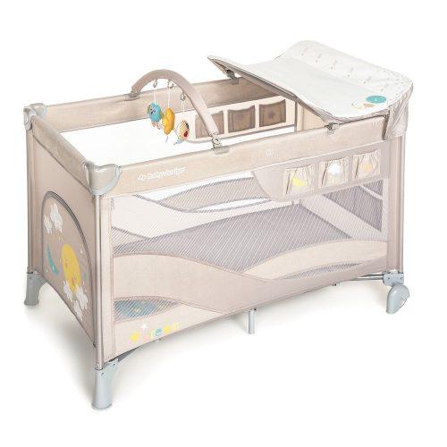 Baby Design Dream multifunkciós utazóágy bézs